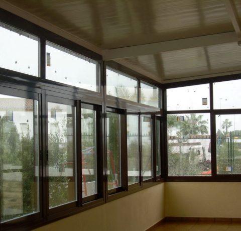 Cerramiento En Terraza Los Gerardos Carpintería De Aluminio